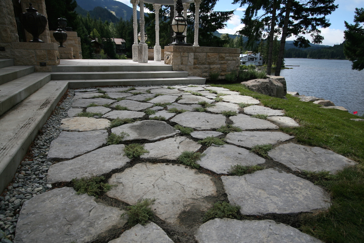 Paving Stones Terracraft Landscape Whistler Bc