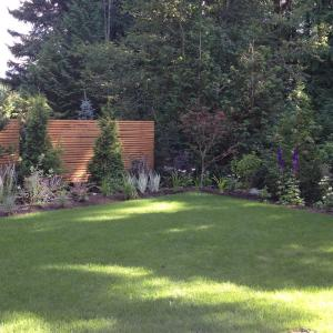 Squamish Carpentry Garden Screen