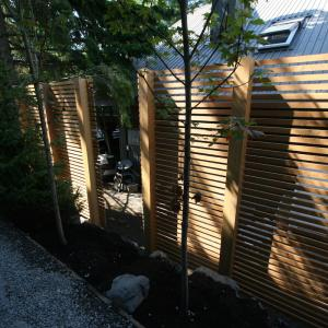 Pemberton Carpentry Side Yard Screen