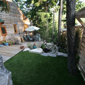 Whistler Design and Build Side Yard
