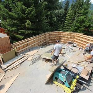 Concrete Forming in Whistler